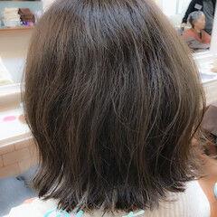 ボブ 外国人風カラー 外ハネ モード ヘアスタイルや髪型の写真・画像