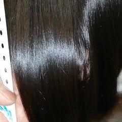 最新トリートメント ボブ ナチュラル 髪質改善 ヘアスタイルや髪型の写真・画像
