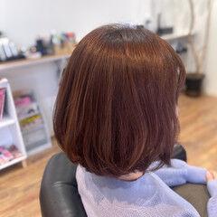 ピンク フェミニン ラベンダー ラベンダーピンク ヘアスタイルや髪型の写真・画像