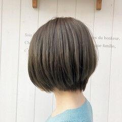 ショートヘア ショートボブ 大人ショート 可愛い ヘアスタイルや髪型の写真・画像