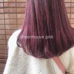 ベリーピンク ピンク 外国人風カラー ヘアカラー