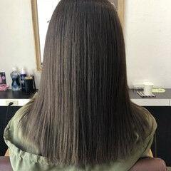 髪質改善 トリートメント セミロング 名古屋市守山区 ヘアスタイルや髪型の写真・画像