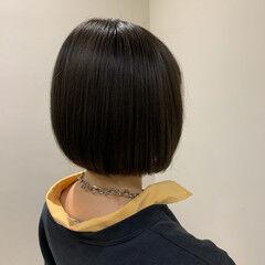 大人可愛い ナチュラル ショートヘア ショートボブ ヘアスタイルや髪型の写真・画像