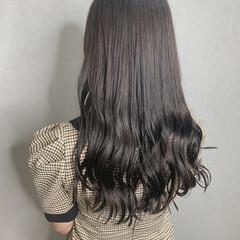 圧倒的透明感 暗髪女子 ロング 大人女子 ヘアスタイルや髪型の写真・画像