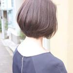 イルミナカラー 艶髪 ナチュラル ショート