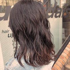 ワンレンベース ワンレン ナチュラル ワンレングス ヘアスタイルや髪型の写真・画像