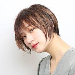 阿藤俊也 大人グラボブ PEEK-A-BOO 似合わせカット ヘアスタイルや髪型の写真・画像