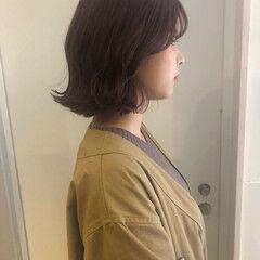 渋谷系 ナチュラル オルチャン ボブ ヘアスタイルや髪型の写真・画像