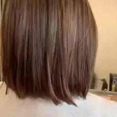 ゆるふわ ハイライト ナチュラル 縮毛矯正 ヘアスタイルや髪型の写真・画像