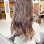 髪質改善トリートメント イルミナカラー 銀座美容室 ナチュラル