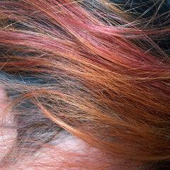 インナーカラー ナチュラル グラデーションカラー キャラデコミュゼリア ヘアスタイルや髪型の写真・画像