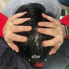 ヘッドスパ 頭皮ケア ショート ヘアケア ヘアスタイルや髪型の写真・画像