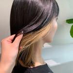 ブリーチカラー ハイトーンカラー モード 髪質改善トリートメント