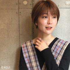 ショートヘア 大人ヘアスタイル ショートボブ 東京ヘアスタイル ヘアスタイルや髪型の写真・画像