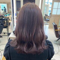 ゆるふわ 波ウェーブ ガーリー 大人かわいい ヘアスタイルや髪型の写真・画像