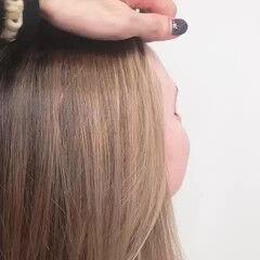 ミディアム 外国人風カラー 外国人風 ナチュラル ヘアスタイルや髪型の写真・画像