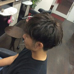 ナチュラル ショート ボーイッシュ ヘアスタイルや髪型の写真・画像