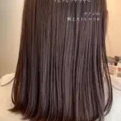 縮毛矯正 ストレート エレガント ミディアム ヘアスタイルや髪型の写真・画像