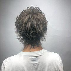 ストリート ミルクティーベージュ 透明感カラー グレー ヘアスタイルや髪型の写真・画像