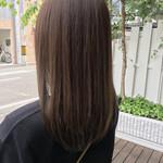 ブランジュ 美髪 セミロング 外国人風カラー