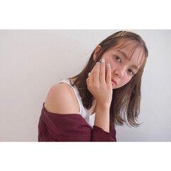 簡単ヘアアレンジ 外国人風 ヘアアクセ ヘアアレンジ ヘアスタイルや髪型の写真・画像