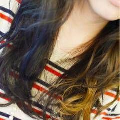 ブルー ストリート 黒髪 夏 ヘアスタイルや髪型の写真・画像