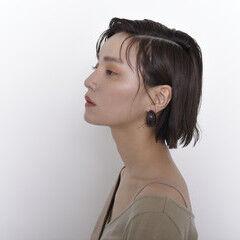 ショートボブ ショート オーガニック ナチュラル ヘアスタイルや髪型の写真・画像