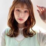 韓国ヘア モテ髪 ミディアム 大人女子
