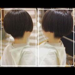 黒髪 オフィス 社会人の味方 ショート ヘアスタイルや髪型の写真・画像