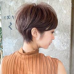 マッシュ ショートボブ ショートヘア ショート ヘアスタイルや髪型の写真・画像