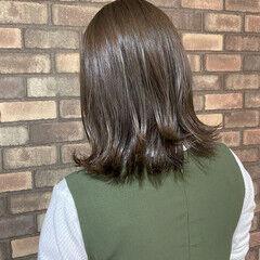 マット N.オイル ミディアム 透明感 ヘアスタイルや髪型の写真・画像