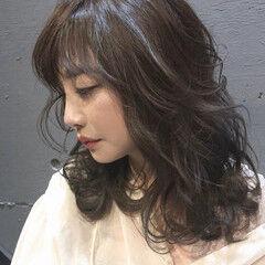 oggiotto 大人女子 ミルクティーブラウン 大人ミディアム ヘアスタイルや髪型の写真・画像