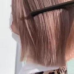 ウルフカット ボブ 切りっぱなしボブ 切りっぱなし ヘアスタイルや髪型の写真・画像