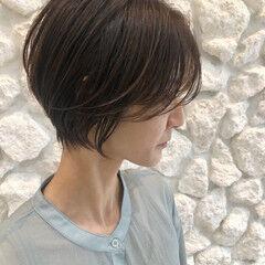 ショートヘア エアリー 大人ショート ナチュラル ヘアスタイルや髪型の写真・画像