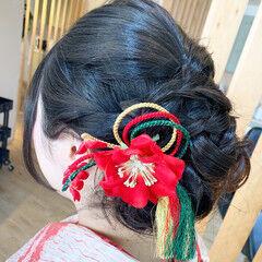 和装髪型 ヘアアレンジ 和装 和装ヘア ヘアスタイルや髪型の写真・画像