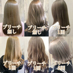 フェミニン アッシュ 外国人風 大人かわいい ヘアスタイルや髪型の写真・画像