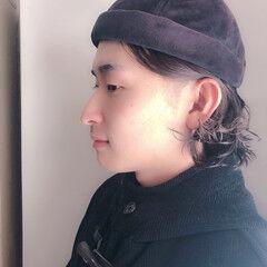 ショートボブ 帽子が似合う モード アウトドア ヘアスタイルや髪型の写真・画像