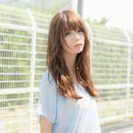 パーマ ナチュラル モテ髪 ロング