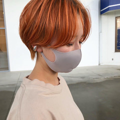 ショート モード ショートヘア 簡単スタイリング ヘアスタイルや髪型の写真・画像