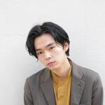 ショート マッシュ デート 黒髪
