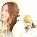 コンサバ モテ髪 春 フェミニン