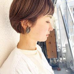 ベリーショート アッシュベージュ ラベンダーアッシュ ショート ヘアスタイルや髪型の写真・画像