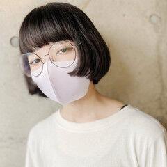 ショート 姫カット ミニボブ ショートヘア ヘアスタイルや髪型の写真・画像