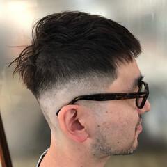 メンズショート スキンフェード ショート ストリート ヘアスタイルや髪型の写真・画像