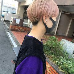 ショート ツーブロック ベリーショート ストリート ヘアスタイルや髪型の写真・画像