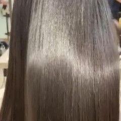 ミディアム フェミニン 最新トリートメント 髪質改善 ヘアスタイルや髪型の写真・画像