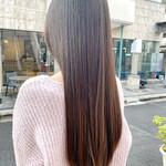 髪質改善 髪質改善トリートメント ロング ナチュラル
