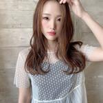 波巻き ゆるウェーブ 艶髪 フェミニン