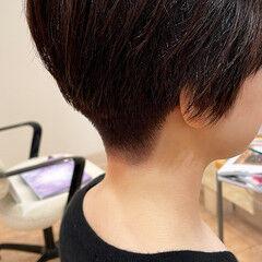 刈り上げショート ショートヘア 刈り上げ女子 ショート ヘアスタイルや髪型の写真・画像