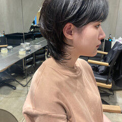ニュアンスウルフ ストリート ウルフパーマ ウルフカット ヘアスタイルや髪型の写真・画像